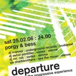 departure 08 flyer design