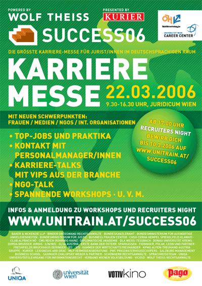 design success 2006 karrieremesse juridicum