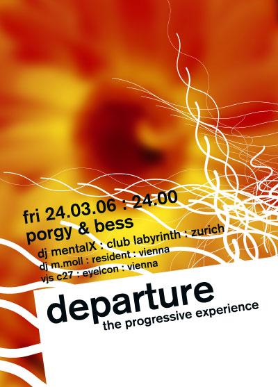 flyer design departure