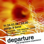 flyer design departure