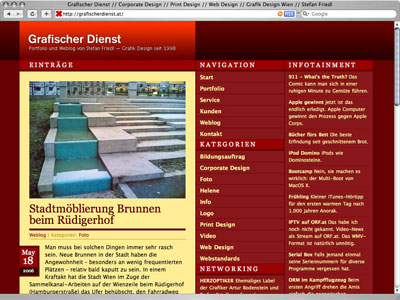 1024 x 768 - redesign grafischer dienst website