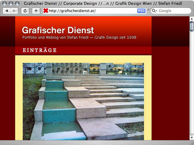 640 x 480 - redesign grafischer dienst website