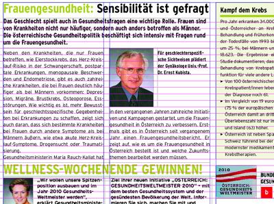 gesundheitsweltmeister 2010 advertorial