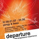 departure 16 flyer design