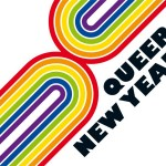 queer new year logo