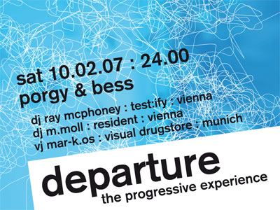 departure 17 flyer design