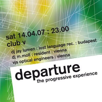 departure 19 flyer design
