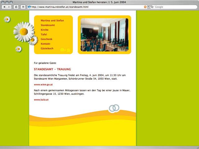 website hochzeit