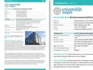 postgraduate angebote broschüre 2009/2010