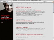 Biografie Wolfgang Fellner Weblog Harald Fidler