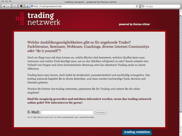 vittner trading netzwerk