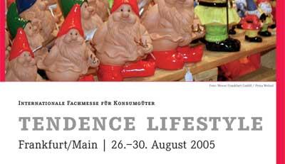 messebroschüre tendence lifestyle 2005 wko außenwirtschaft